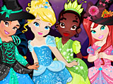 Принцессы Диснея Хэллоуин