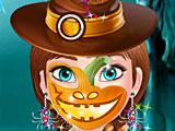Холодное сердце Хэллоуин макияж Анны