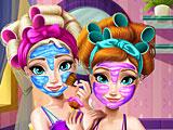 Эльза и Анна макияж в колледж
