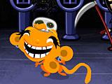 Счастливая обезьянка летучие мыши