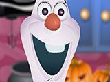 Холодное сердце Хэллоуин готовка Олафа