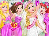 Принцессы Диснея девичник Рапунцель