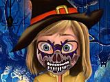Райли Хэллоуин фейс-арт