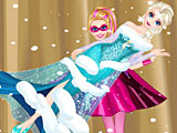 Супер Барби спасает Эльзу