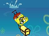 Губка Боб морской ныряльщик