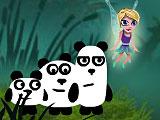 3 панды в фантазии