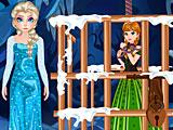 Эльза спасает Анну