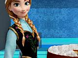 Анна готовит кокосовый торт