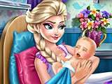 Уход Анны за беременной Эльзой