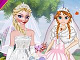 Эльза и Анна невесты