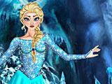 Холодное сердце одевалки и прически Эльзы
