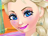 Простой макияж Эльзы