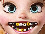 Анна лечит зубы у стоматолога