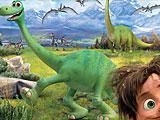 Пазлы хороший динозавр