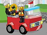 Лего пожар