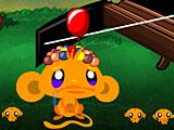 Счастливая обезьянка шарики