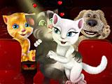 Том и Анжела поцелуи в кино