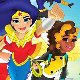 Девушки супергерои школа полетов