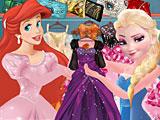 Принцессы Диснея модный бутик Ариэль