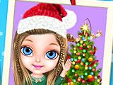Малышка Барби магия Новый год