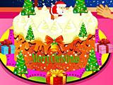 Даша готовит рождественский пирог