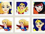 Девушки супергерой тренировка памяти