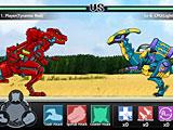 Драки трансформеров роботов динозавров