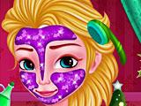 Новогодний макияж Эльзы