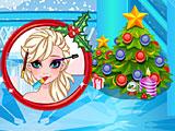 Холодное сердце Эльза и Анна рождественская вечеринка