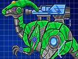 Собрать робота гадрозавр