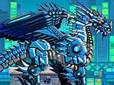 Робот ледяной дракон