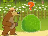 Маша и Медведь сколько зверей за кустом