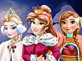 Принцессы Диснея Новый год