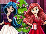 Принцессы Диснея новогодняя ёлка