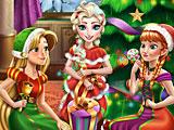 Принцессы Диснея новогодняя вечеринка