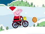 Свинка Пеппа новогодняя доставка