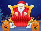 Санта Клаус в спа салоне