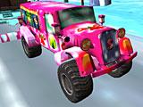 Новогодний грузовик 3Д
