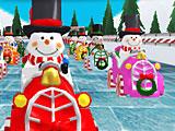 Новогодние гонки снеговиков