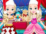 София и Эмбер Рождество