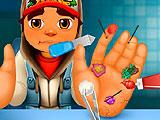 Сабвей серф лечить руки