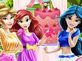 Принцессы Диснея свадебный торт Жасмин