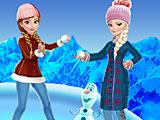 Холодное сердце: зимние забавы