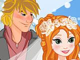 Холодное сердце: макияж Анны на свадьбу