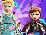 Лего холодное сердце: Эльза и Анна