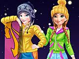 Холодное сердце: зимние каникулы Эльзы и Анны