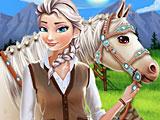 Холодное сердце Эльза: уход за лошадью