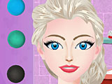 Холодное сердце макияж Эльза на вечеринку