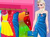 Холодное сердце: Эльза одевается на вечеринку