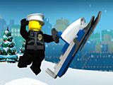 Лего снегоход